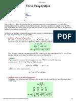 Error Analysis Imp