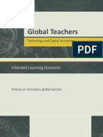 Global Teachers - Technology and Digital Innovative
