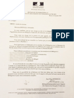 Lettre de mission destinée à Alexandre Benalla