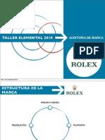 Auditoria Rolex