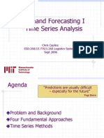 Demand Forecasting I Time Series Analysis