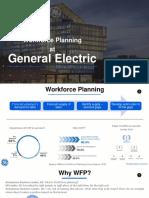 Workforce Planning at GE