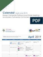 EaP CSF Calendar