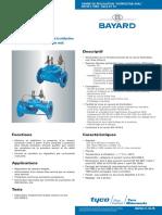 Vanne de Régulation Hydrostab Aval K110B