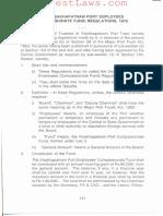 Visakhapatnam Port Employees' (Compassionate Fund) Regulations, 1970