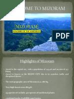 Visit Mizoram