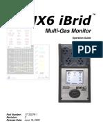 Analizor Multigaz MX6-Eng