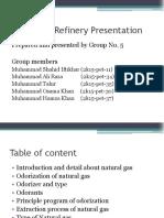 Refinery Presentation