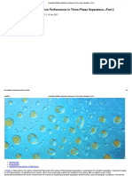 Quantifying Oil_Water Separation Performance in Three-Phase Separators—Part 2