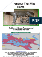 The Grandeur That Was Rome