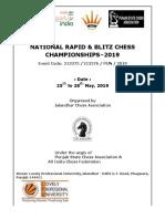 Final Prospectus National Rapid and Blitz 2019