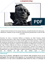 La decapitación de Goya | MadridLaCiudad