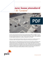 Accounting standard for Lease IFRS 16