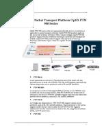 OptiX PTN 900 Products Brochure.doc