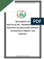 Reglamento de Practicas Modulares IESTPSA