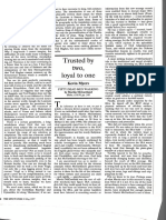 Trusted by Two, Loyal to One... Kevin Myers Reviews Martin McGartland's Book Fifty Dead Men Walking
