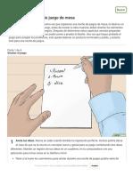 Cómo hacer tu propio juego de mesa - wikiHow.pdf