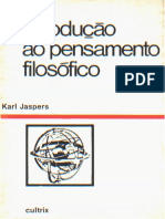 Introdução Ao Pensamento Filosófico - Karl Jaspers