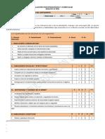 Evaluacion Psicopedagogica y Curricular Abreviada