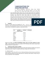 panduan jurnal internasional
