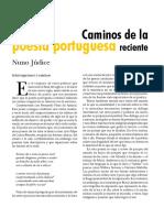 Nuno Júdice - Caminos de la poesía portuguesa reciente.pdf