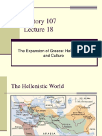 Lecture 18- Hellenistic Art and Culture