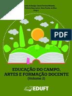 Livro Educação do Campo, Artes e Formação Docente (Volume 2)