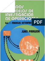 Metodos y Modelos de Investigacion de Operaciones