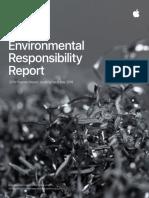Apple Environmental Responsibility Report 2019