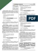 Directiva - Cadena de Custodia