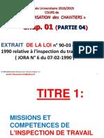 Extrait de La Loi 90.03 Relative à l'Inspection de Travail-2