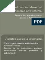 Antropología Funcional y Estructural