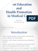 Patient Educations - Indonesia