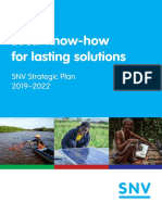 SNV Strategic Plan 2019 2022 1