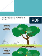 Urban Green Space Disparities and Health 508