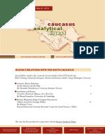 Caucasus Analytical Digest 109