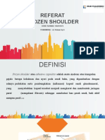 Ppt Referat Frozen Shoulder Fix