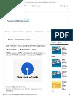 SBI PO 2017 Recruitment-2403 Vacancies - ExamGuruAdda-Bank Exams, SSC and More