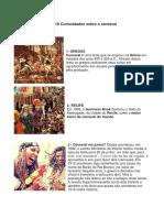 10 Curiosidades Sobre o Carnaval