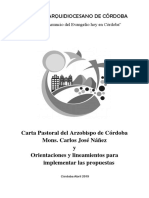 Documento Final XI Sínodo de Córdoba