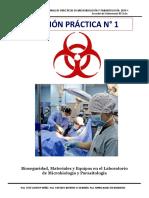 Prácticas i Unidad Microbiología y Parasitología Enfermería 2019-i