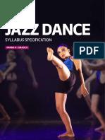 PAA Jazz Dance Syllabus Grade4 Grade5