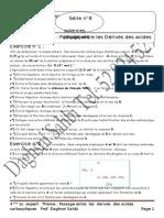 SERIE N° 8  PASSAGE ENTRE LES DERIVES DES ACIDES CARBOXYLIQUES