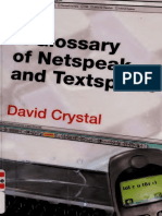 A glossary of netspeak and textspeak .pdf