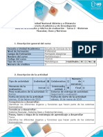 Guía de Actividades y Rúbrica de Evaluación - Tarea 2 - Sistemas Muscular, Óseo y Nervioso