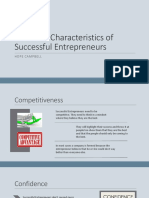 common characteristics of successful entrepreneurs - hope