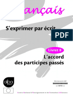 LA Les Accords Des Participes Passés
