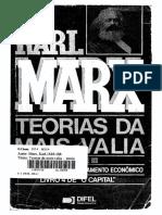 Marx - Teorias da mais-valia - vol. III.pdf