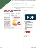 Romania – Annual Project Management Salary Survey® 2017 – Rezultate « Salarii « ComunitateA _ Management de Proiect2