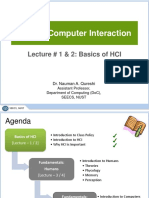 Lecture-1-2 (Basics of HCI)